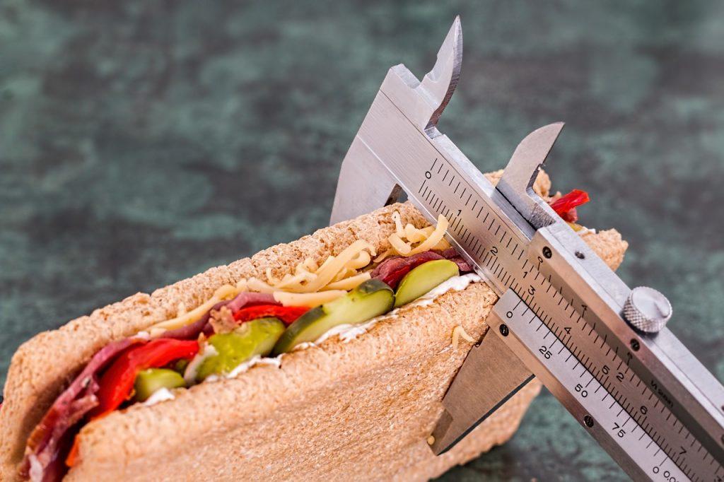 calorías por día para la diabetes