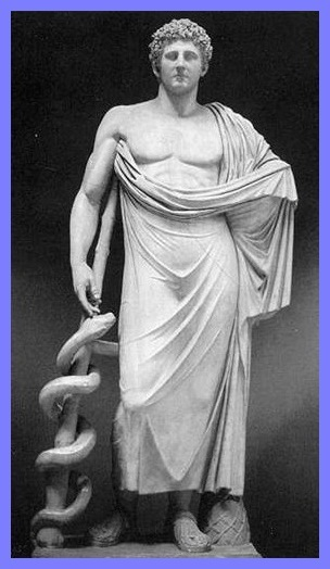 Esculapio Dios de la medicina
